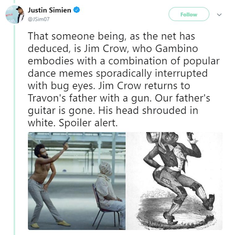 Childish Gambino: This is America uses music and dance to