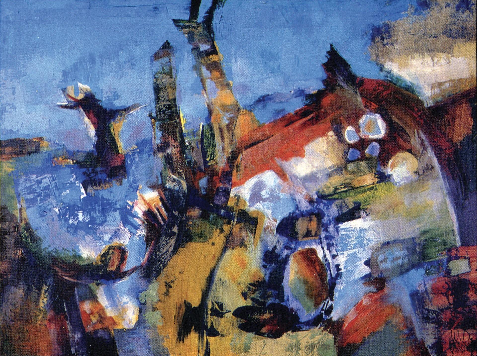 Polish Resistance fighter, 'Slavic space age' modernist, legendary Australian artist