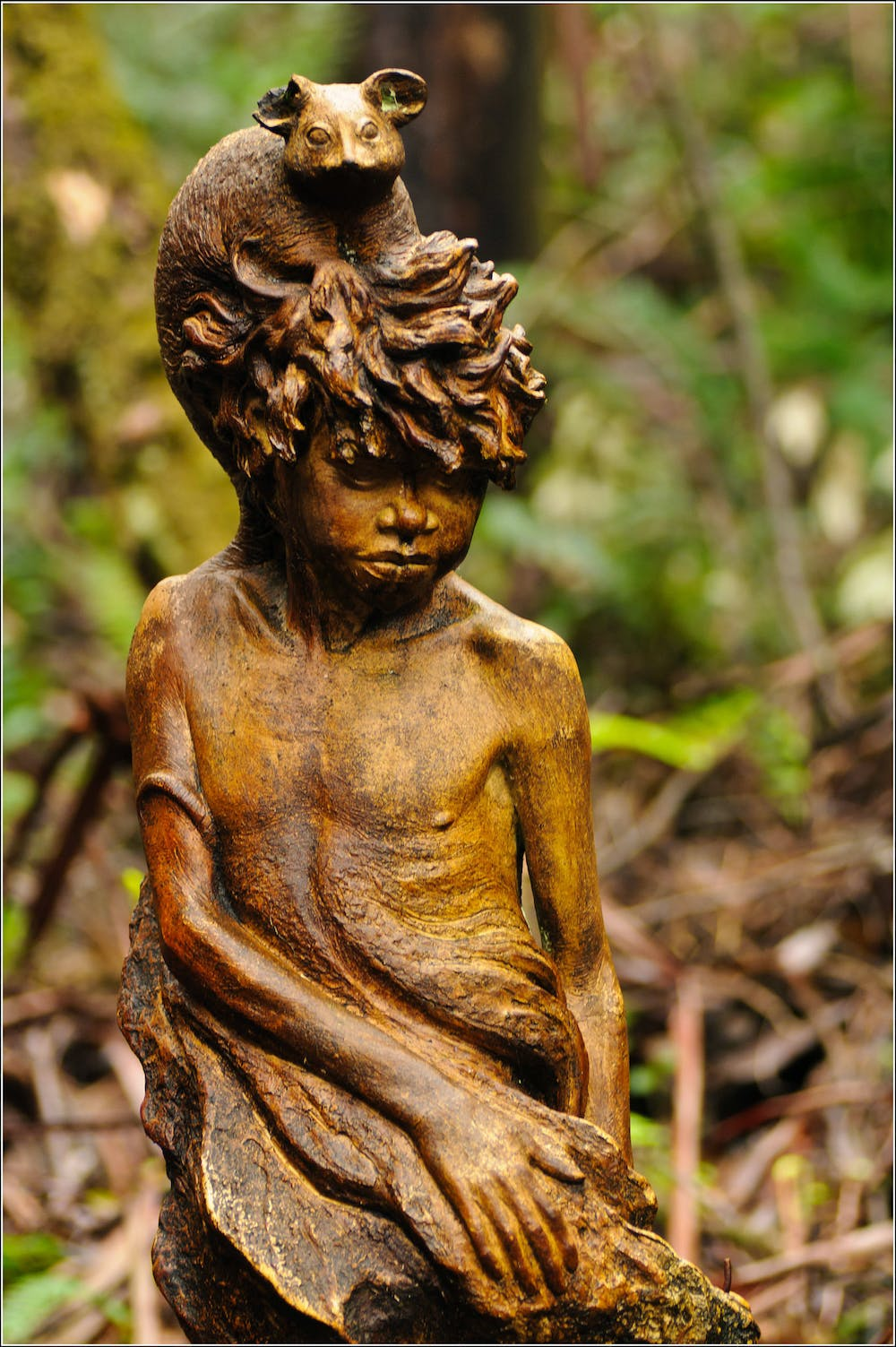 Essay On Photosynthesis Gushy Mawkishness A Statue Of A Child At The Sanctuary Rreeveflickr Cc  By Locavore Synthesis Essay also Good Essay Topics For High School Friday Essay William Ricketts Sanctuary Is A Racist Anachronism But  Essay On Modern Science