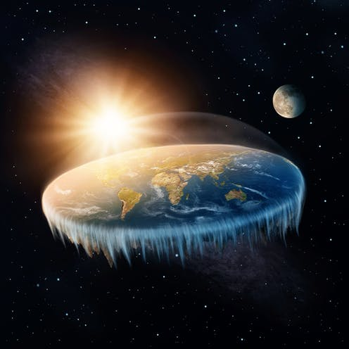 Would a flat Earth suffer from climate change?