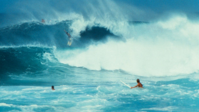 four decades between surfing and myth making