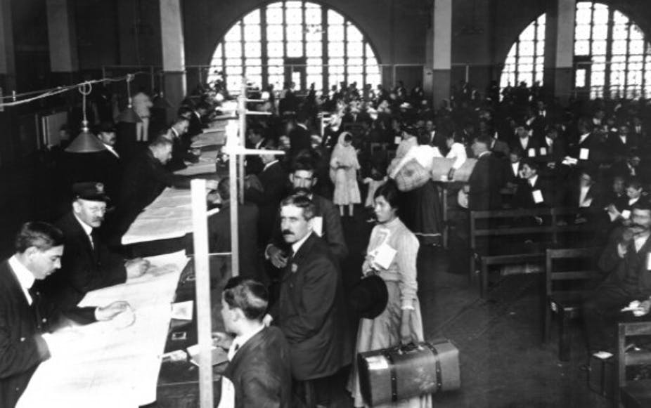 Jewish Americans changed their names, but not at Ellis Island