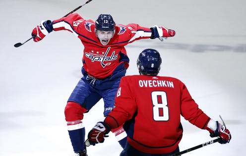 Hoping for a bullish stock market  Cheer for the Washington Capitals 4d5477496ad