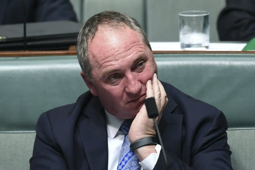 Barnaby Joyce's decision to sell his story is a breach of professional ethics