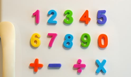 When did humans first learn to count?