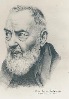 Padre Pio: moving explanation of bilocation | Credit: Roberto Dughetti – Lucia Dughetti, CC BY-SA