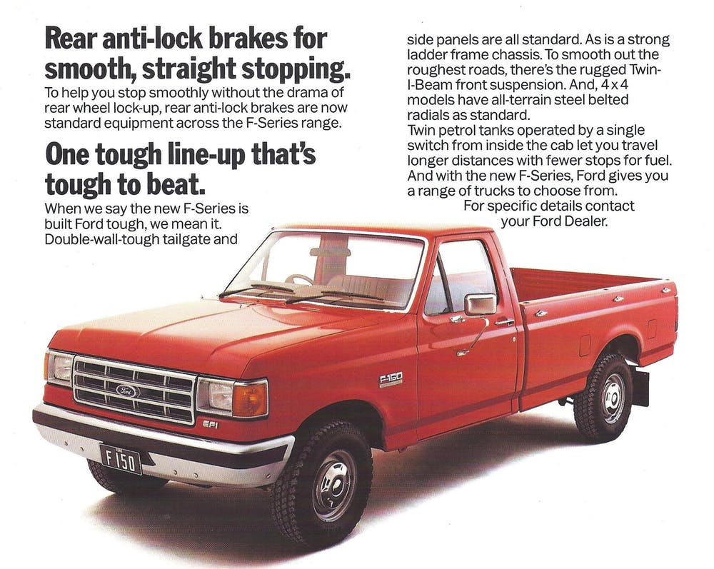 1987 ford pickup truck