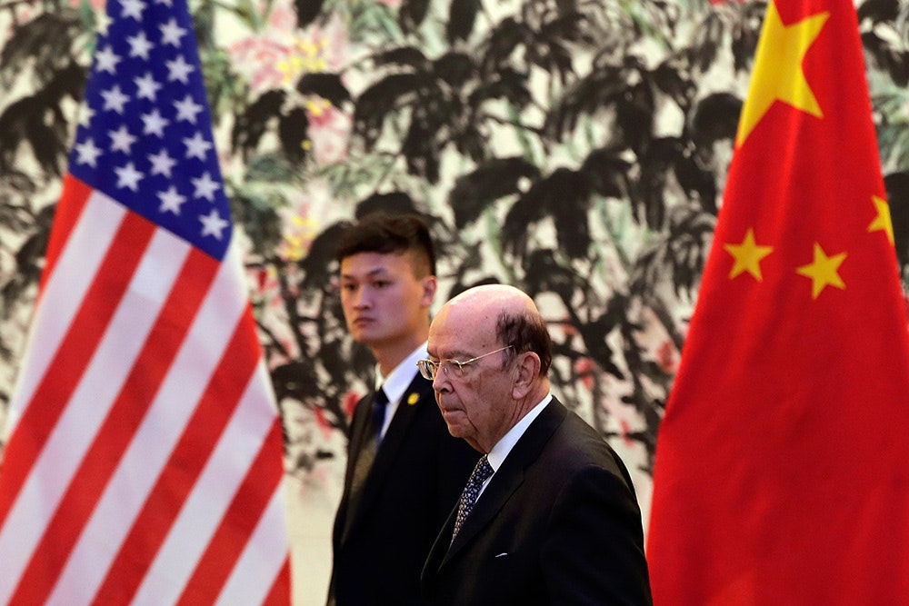 U.S. Commerce Secretary Wilbur Ross returned from China with little to show for it. AP Photo/Andy Wong