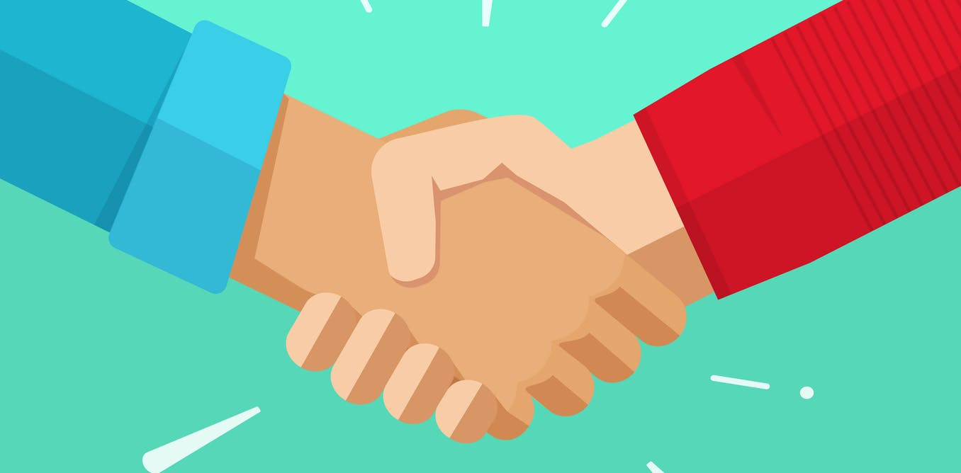 Shaking hands is disgusting – here's what else you can do