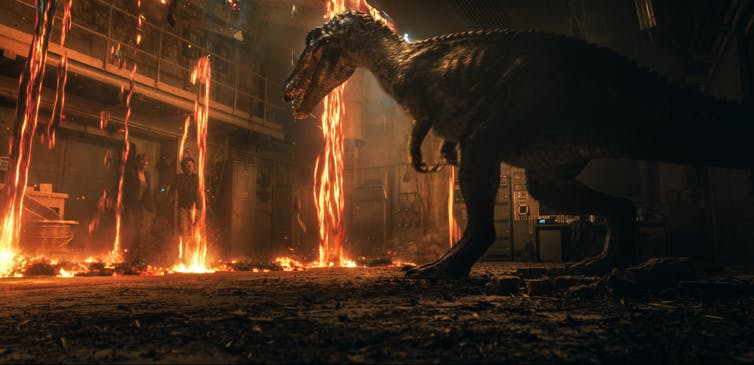 There's a new kid in town in Jurassic World: Fallen Kingdom.