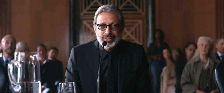 Jeff Goldblum reprises his role as Ian Malcolm, with a stark warning