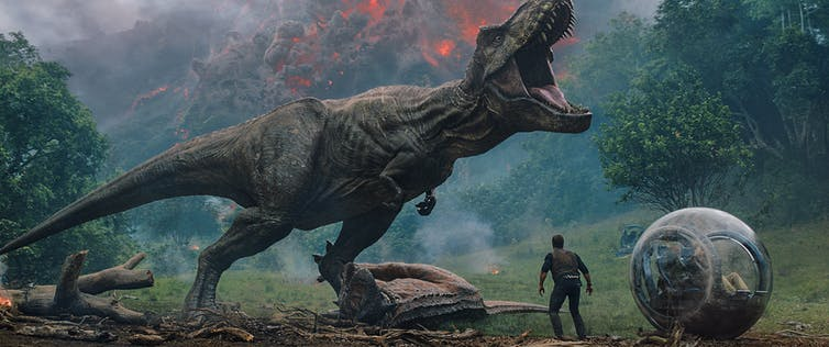 """Jurassic World: Fallen Kingdom"": Who will get Owen first - the volcano or the T-Rex?"