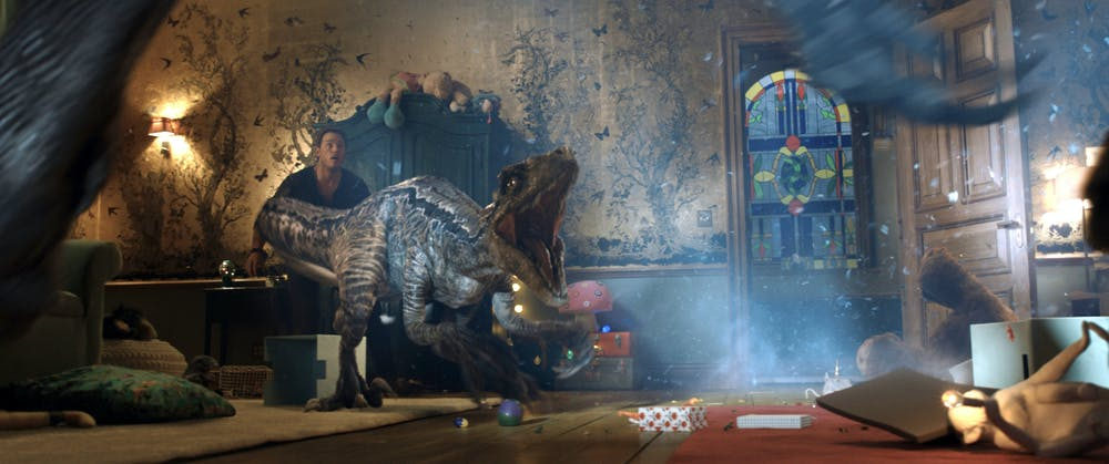 Jurassic World: Fallen Kingdom where new dinosaurs emerge