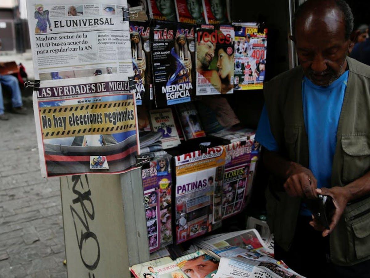 El bombardeo de noticias falsas distorsiona la realidad en Venezuela