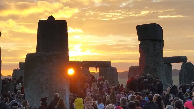 Summer solstice in Stonehenge