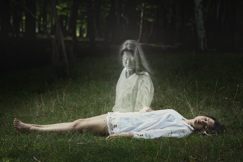 What lies behind ghosts, demons and aliens – according to sleep