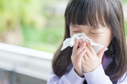 Curious Kids: Why does my snot turn green when I have a cold?
