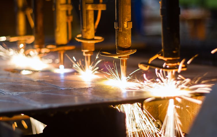 The reason for the strong relationship between industrialization and economic development is that the manufacturing sector is the driver of productivity growth.