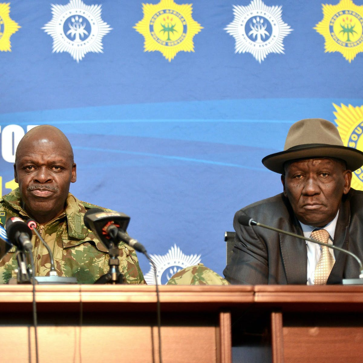 Police strategy to reduce violent crime in South Africa