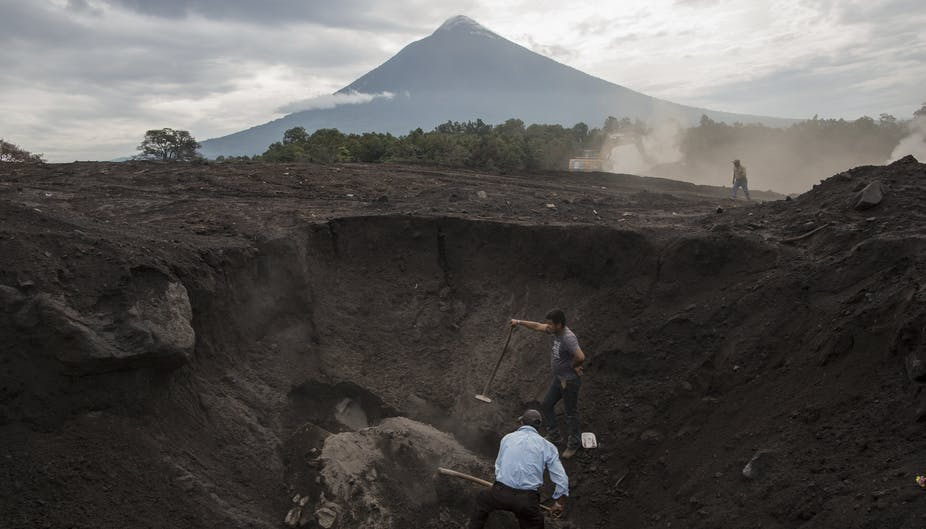 After volcano eruption, Guatemalans lead their own