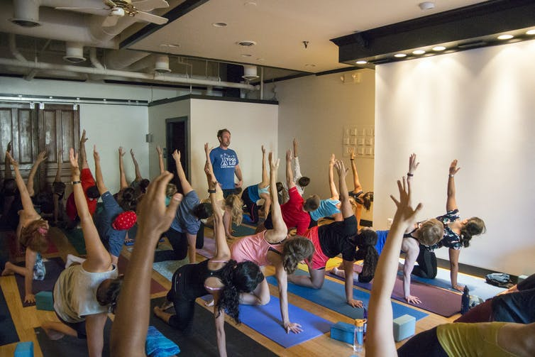 College Media Network Yoga Isn't Timeless: It's Changing to Meet Contemporary Need