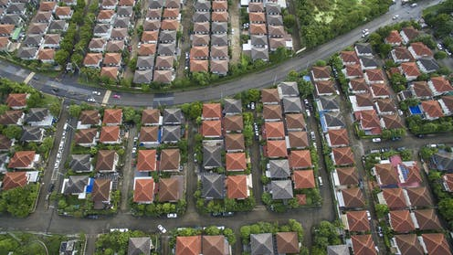 we are witnessing a slowly deflating property bubble, for now