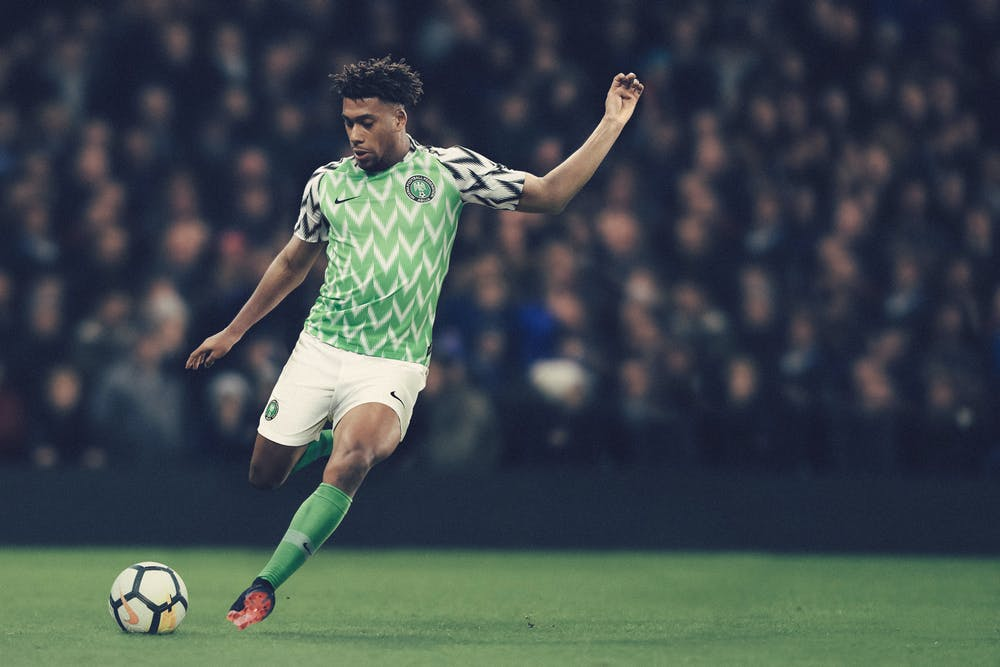 9ba877b4d The Nigerian team s home jersey was an instant hit among fans worldwide.