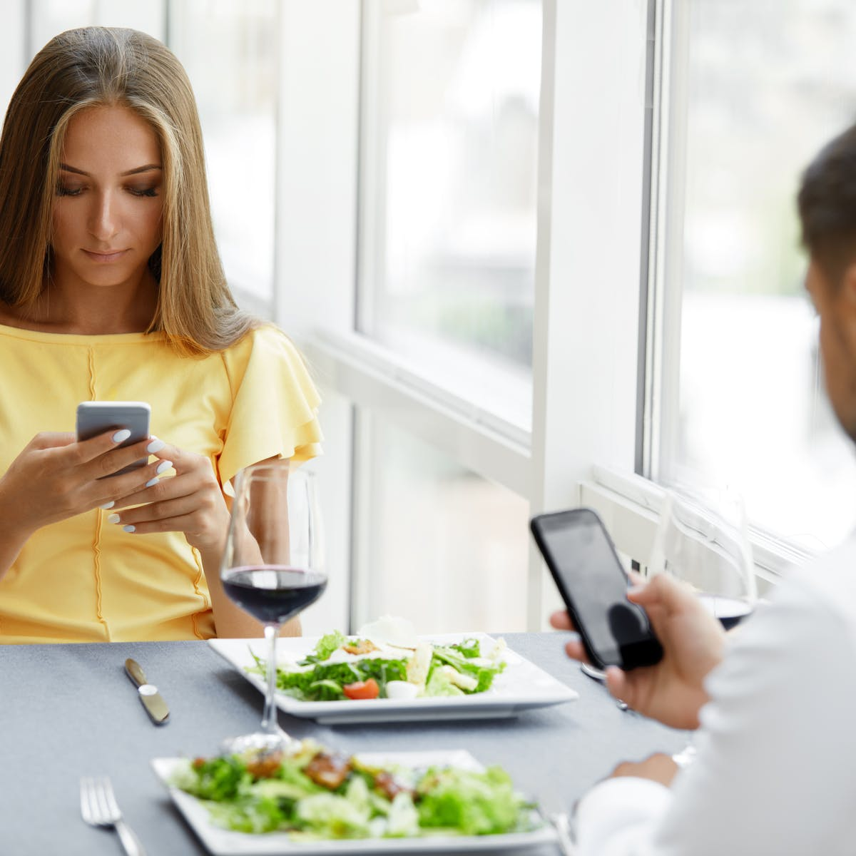 To improve digital well-being, put your phone down and talk to people