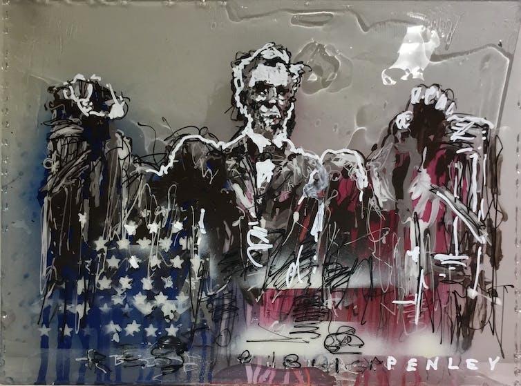 College Media Network Painter Jon McNaughton's Novel Portrayal of Modern Conservatism