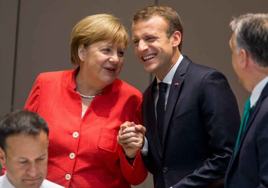 Can the bond between Macron and Merkel keep the rest of the EU united?