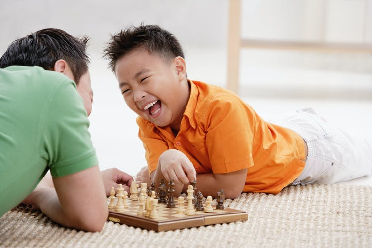 Play games with your kids this summer to boost their brains