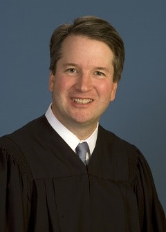 Brett Kavanaugh portrait