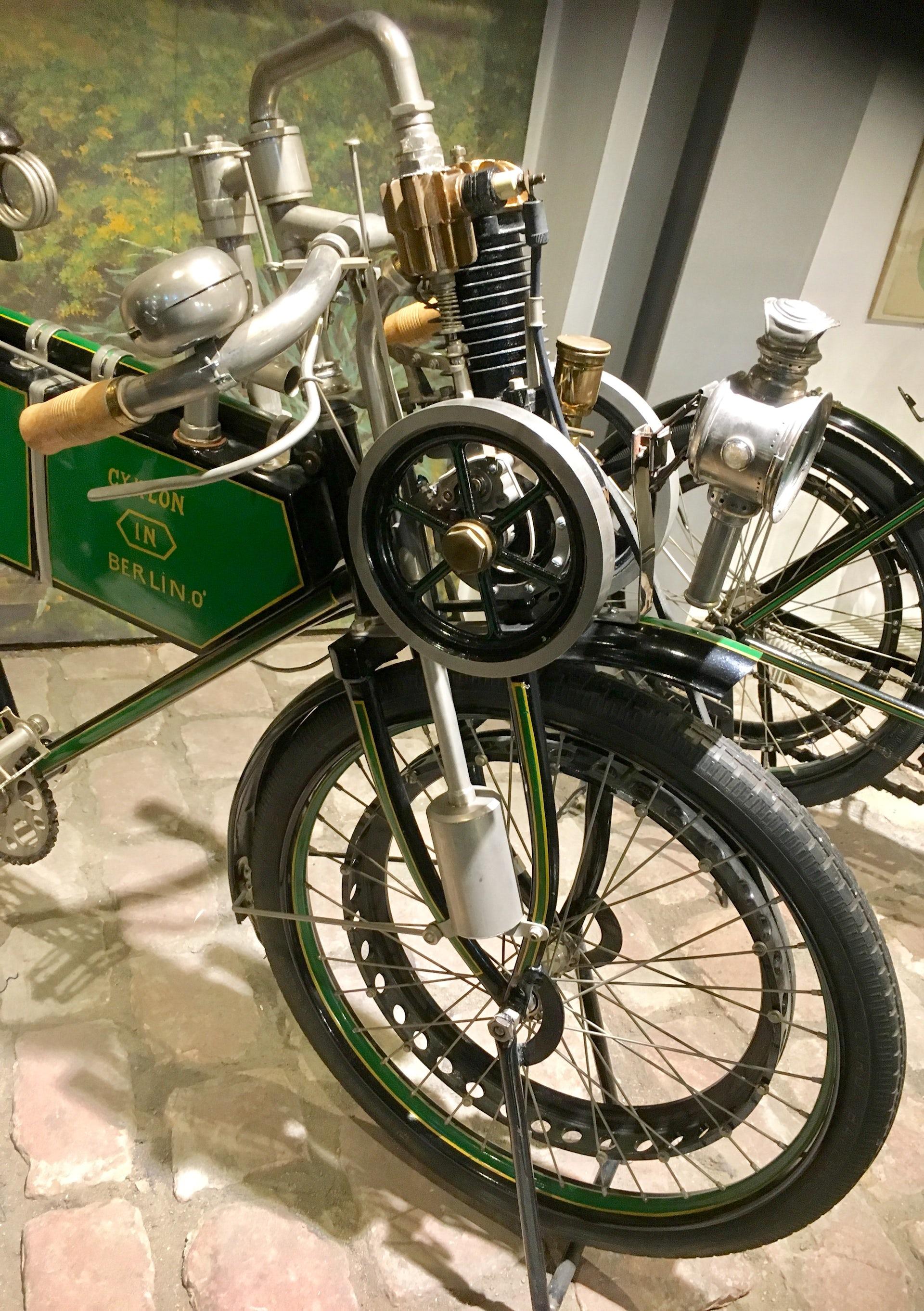 history motorcycles