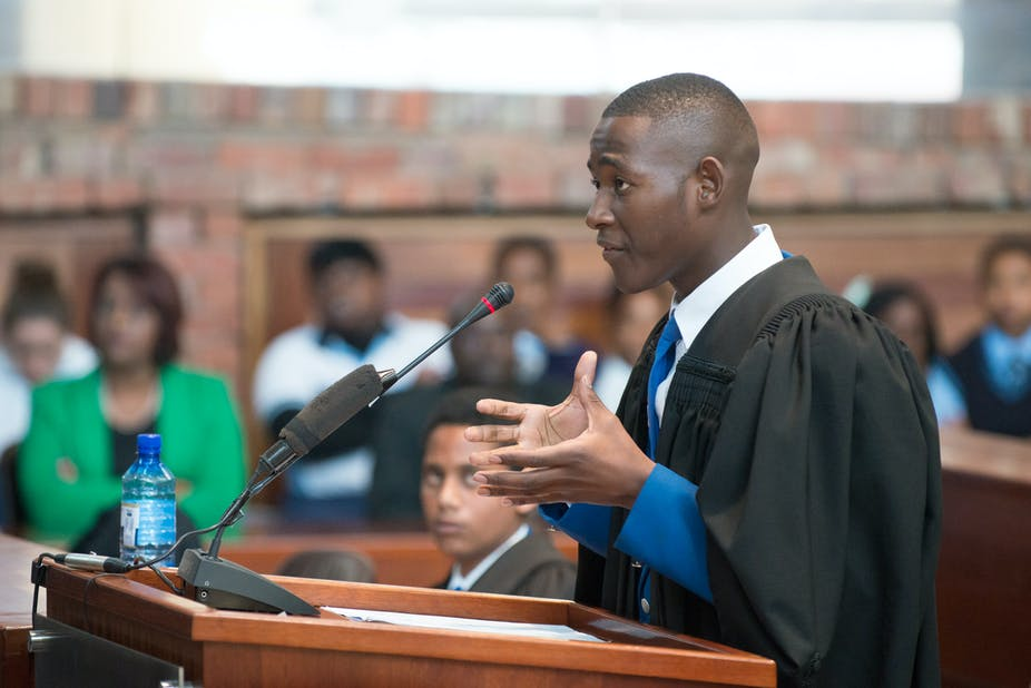 Why moot courts can play a valuable role in teaching kids about