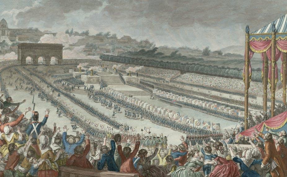 Léquivoque Anniversaire Du 14 Juillet Prise De La Bastille Ou