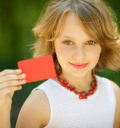 how gift cards initiate children into the world of 'credit'