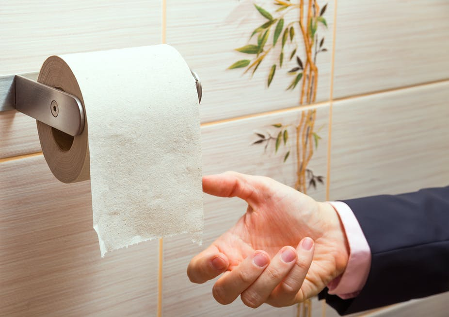 I got a hoax academic paper about how UK politicians wipe their bums