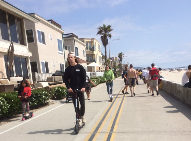 Electric scooters on collision course with pedestrians and lawmakers