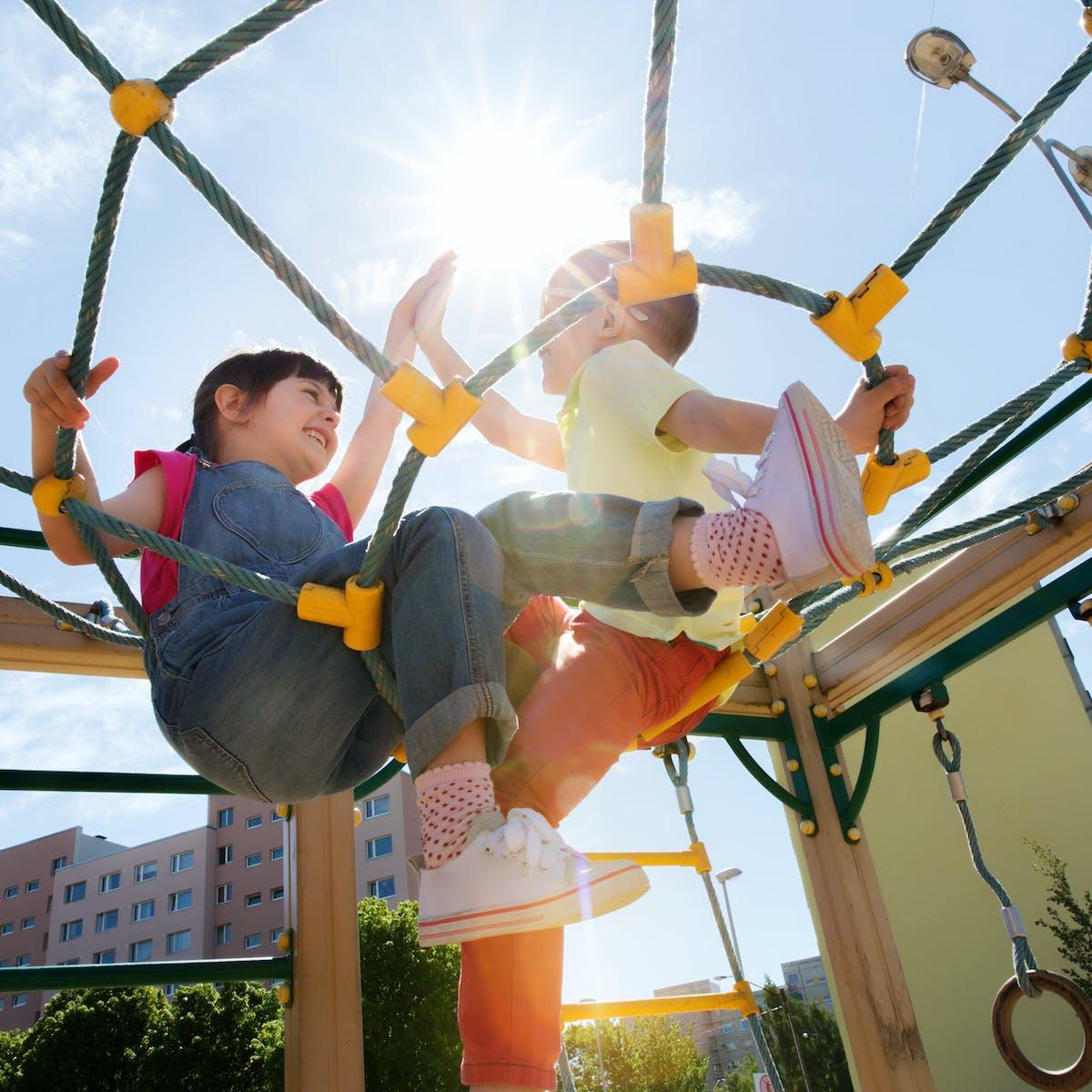 Do 'screaming children' in playgrounds ruin neighbourhood parks?