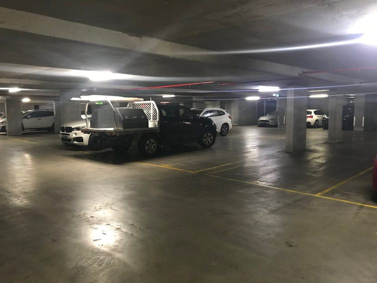Empty car parks everywhere, but nowhere to park