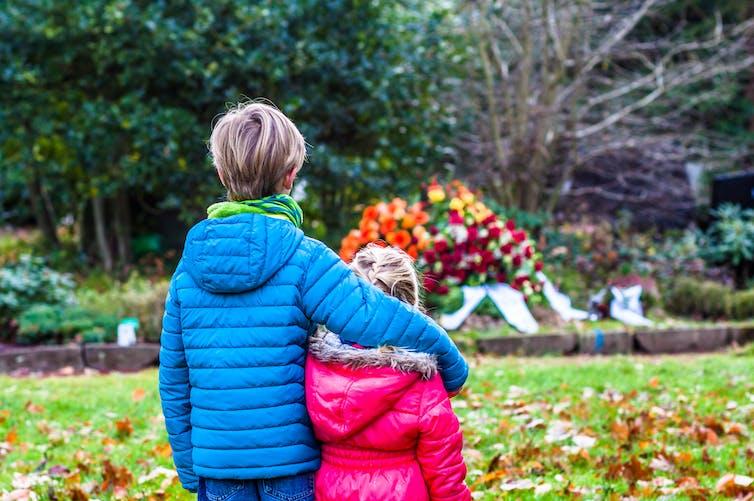 Children begin to grasp death's finality around the age of four. Shutterstock