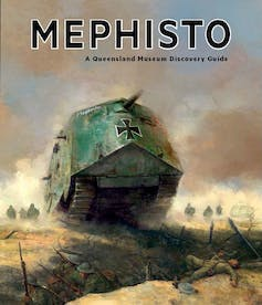 Battle scars reveal the life of 'Mephisto', a WW1 German tank from a century ago