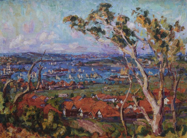 Australia's French Impressionist maps artistic connections