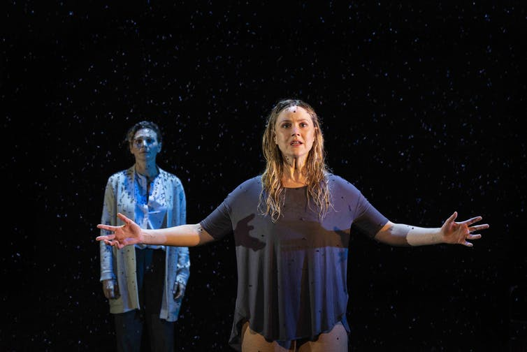 Melancholia artfully brings the end of the world to the stage