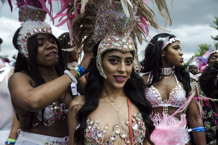 Joyous resistance through costume and dance at Carnival