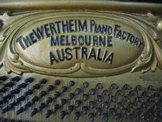 From the First Fleet to Changi, Australia's pianos have a long history