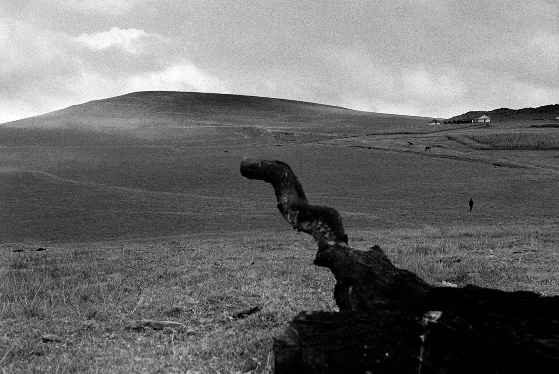 The Julukuqu mountain in Mqhekezweni - where Nelson Mandela grew up.Bonile Bam