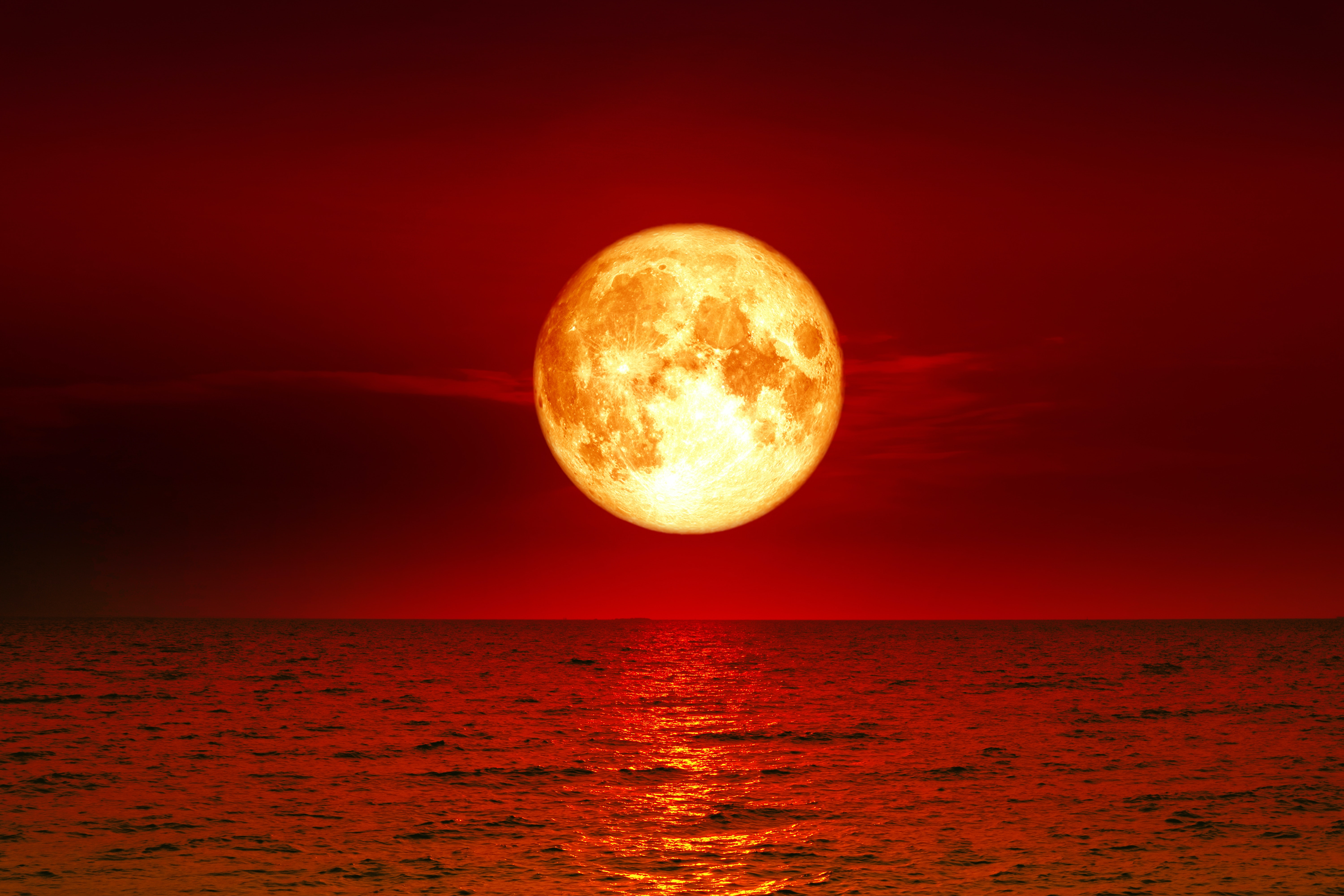 Blood Moon Lunar Eclipse Myths From Around The World