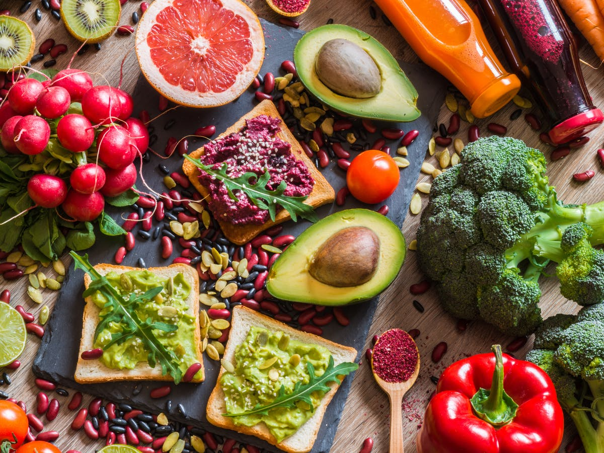 first day of vegan diet