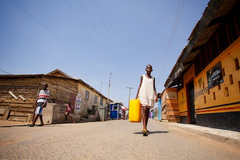 Water Access May Be More Important Than Electricity For Sub Saharan Africa
